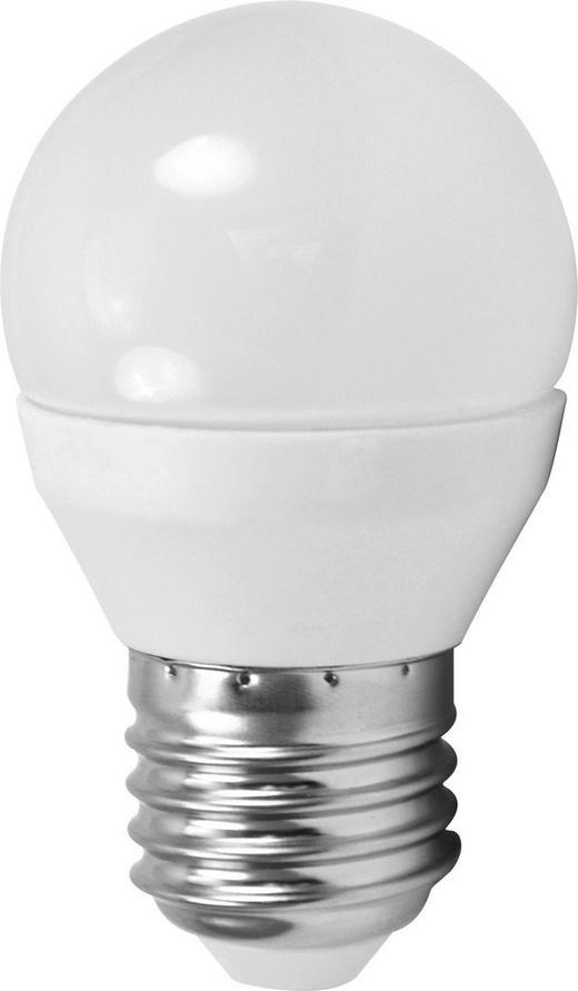 LED-LEUCHTMITTEL  E27 4 W - Weiß, Basics, Glas (7,9cm) - Homeware