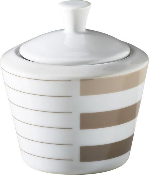 ZUCKERDOSE Keramik - Hellbraun/Beige, Basics, Keramik (8cm) - RITZENHOFF BREKER
