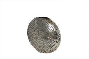 VAS - silver, Basics, metall (34/31/15cm) - Ambia Home
