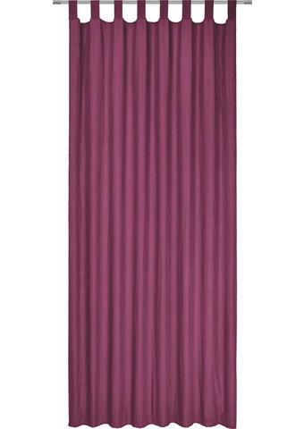 ZAVESA Z ZANKAMI POLO - lila, Konvencionalno, tekstil (135/245cm) - Boxxx
