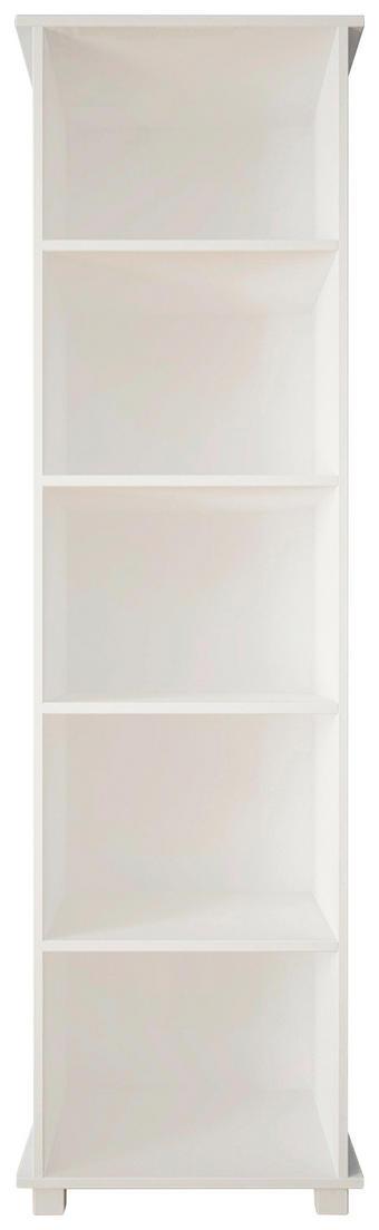 REGAL 50/188,5/36 cm - Weiß, Basics, Holz/Holzwerkstoff (50/188,5/36cm) - Hom`in