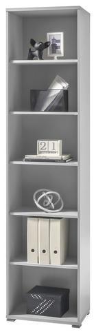 REGAL ZA DOKUMENTE - boje srebra/svijetlo siva, Design, drvni materijal (52/220/35cm) - Xora