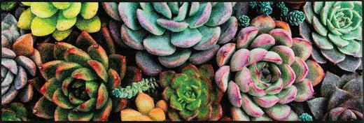 FUßMATTE 60/180 cm Blume Multicolor - Multicolor, Kunststoff/Textil (60/180cm) - Esposa