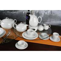 FRÜHSTÜCKSTELLER Keramik Porzellan  - Weiß, Basics, Keramik (23cm) - Seltmann Weiden