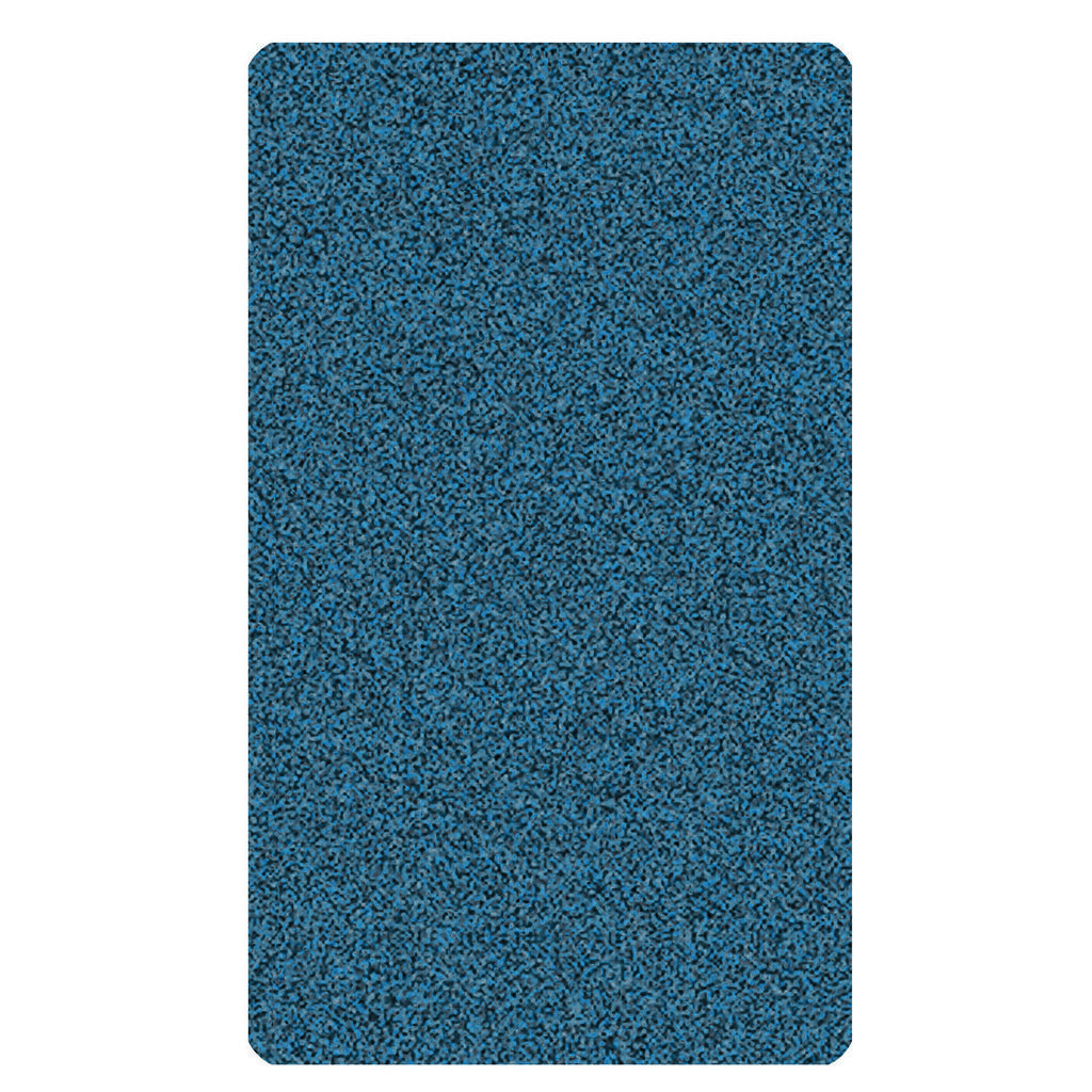 Kleine Wolke Badteppich in blau 55/65 cm