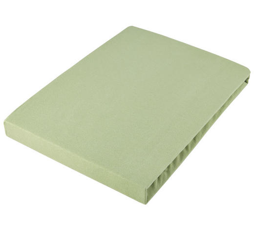 RJUHA BASIC, 100/200 - zelena, Konvencionalno, tekstil (100/200cm) - Schlafgut