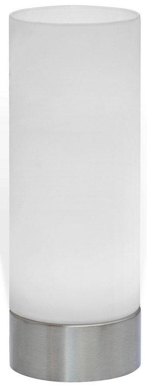 LED BORDSLAMPA - nickelfärgad, Basics, metall/glas (21,5/8cm) - Boxxx