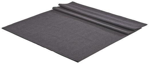 TISCHDECKE Textil Leinwand, Struktur Anthrazit 140/180 cm - Anthrazit, Basics, Textil (140/180cm) - NOVEL