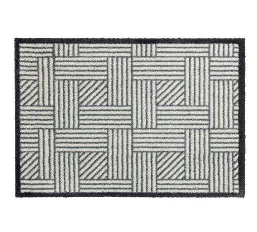 FUßMATTE 50/70 cm - Silberfarben/Grau, Design, Textil (50/70cm) - Schöner Wohnen