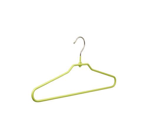 RAMÍNKO NA ŠATY - zelená, Design, kov (40cm)