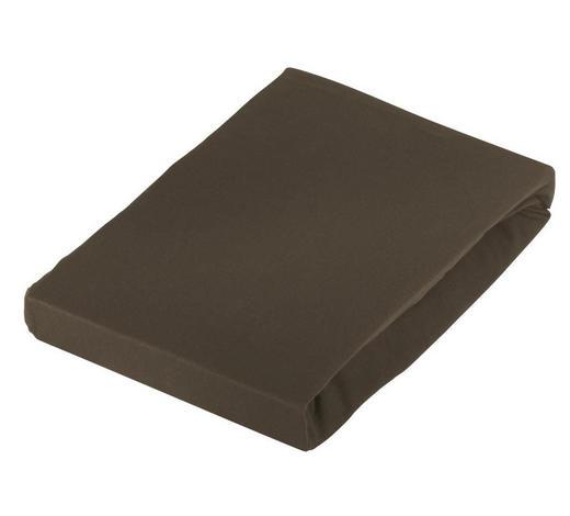 SPANNLEINTUCH 100/200 cm - Braun, Basics, Textil (100/200cm) - Novel