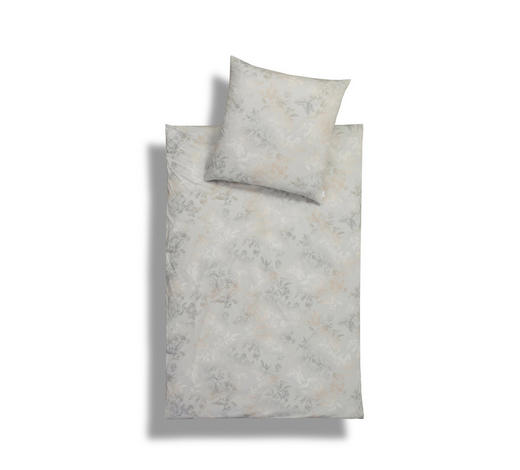 BETTWÄSCHE Interlock-Jersey Beige 155/220 cm  - Beige, Basics, Textil (155/220cm) - Estella