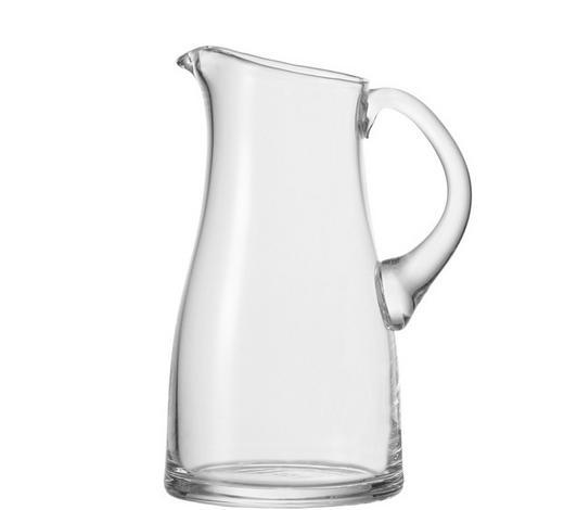 GLASKRUG 1,7 L - Klar, KONVENTIONELL, Glas (1,7l) - Leonardo