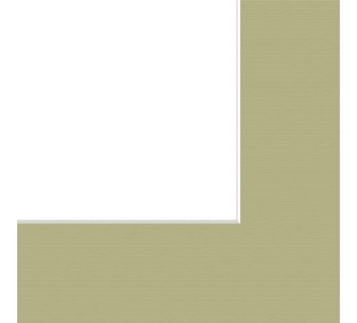 PASPARTA - zelená, Basics, papír (40/50/0,2cm)