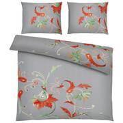 BETTWÄSCHE 200/200 cm - Rot/Grau, Design, Textil (200/200cm) - ESPOSA