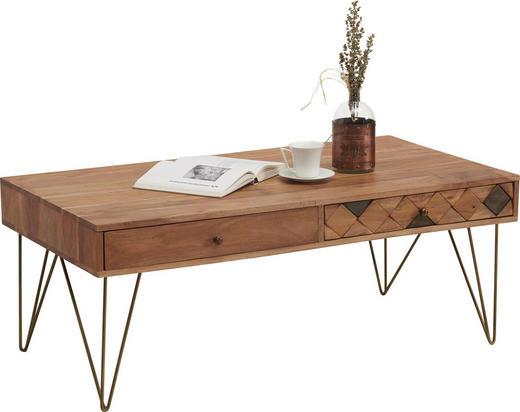 Couchtisch In Holz Holzwerkstoff Metall 115 60 45 Cm Online Kaufen
