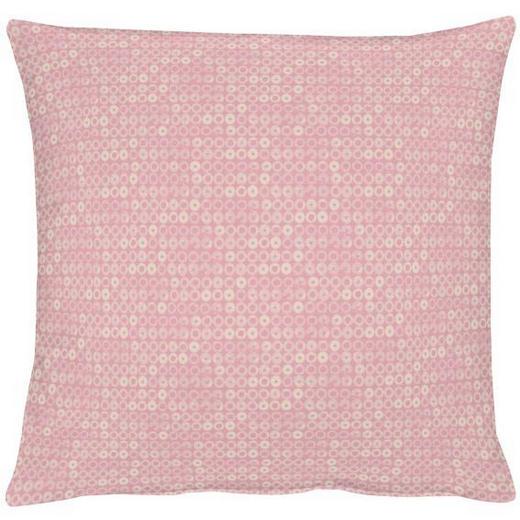 KISSENHÜLLE Rosa 40/40 cm - Rosa, LIFESTYLE, Textil (40/40cm)
