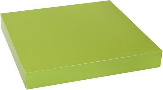WANDBOARD Grün - Grün, Design (23,5/3,8/23,5cm) - Carryhome