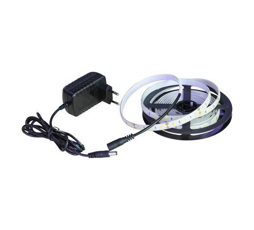 LED PÁSKA - bílá, Basics, kov/umělá hmota (300/0,8/0,2cm) - Boxxx