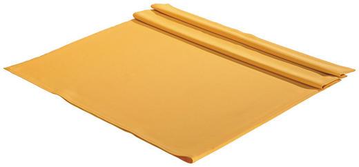 TISCHDECKE Textil Gelb 135/220 cm - Gelb, Basics, Textil (135/220cm)