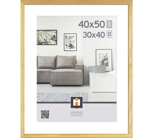 BILDERRAHMEN  Naturfarben  - Naturfarben, KONVENTIONELL, Glas/Holz (43/53/2,5cm)