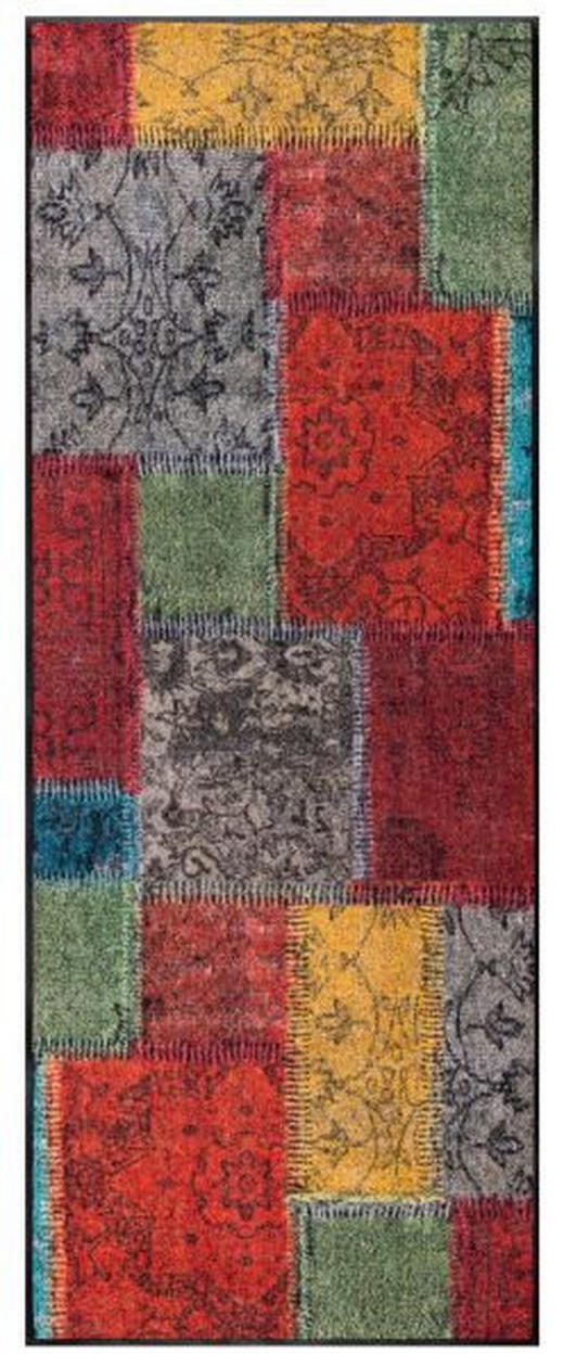 LÄUFER  75/190 cm  Multicolor - Multicolor, Basics, Kunststoff/Textil (75/190cm) - Esposa