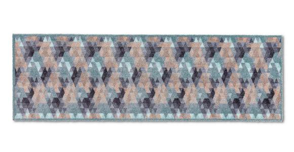 KÜCHENLÄUFER 50/150 cm  - Blau/Beige, KONVENTIONELL, Textil (50/150cm) - Esposa
