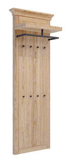 GARDEROBENPANEEL Pinie massiv gebürstet, geölt, lackiert Pinienfarben - Pinienfarben, Trend, Holz (59/190/30cm) - Landscape