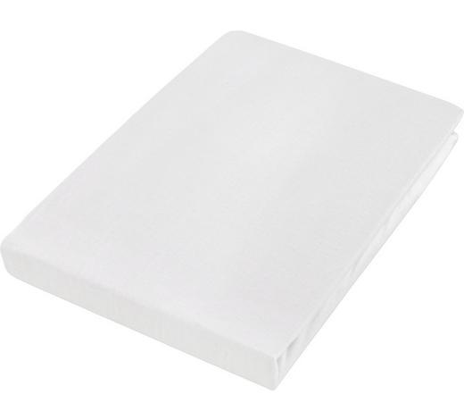 PROSTĚRADLO NAPÍNACÍ - bílá, Basics, textil (140/200cm) - Boxxx