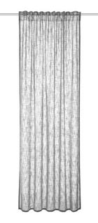 ZAVJESA S OMČAMA - siva, Konvencionalno, tekstil (135/245cm) - Esposa