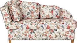 RECAMIERE in Textil Multicolor  - Buchefarben/Multicolor, Design, Holz/Textil (180/97/85cm) - Novel