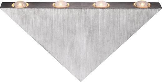 LED-WANDLEUCHTE - KONVENTIONELL, Kunststoff/Metall (23,5/3/12,5cm)