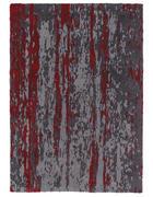 TEPPICH   Grau, Rot   - Rot/Grau, Trend, Kunststoff (120/180cm)