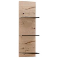 Wandpaneel - Eichefarben, Natur, Glas/Holz (32/104/26,2cm) - Voglauer
