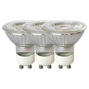 LED-Leuchtmittel, Reflektor GU10 - Klar, Basics, Glas/Metall (5/5,3cm) - BOXXX