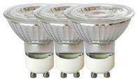 Led-leuchtmittel   LED-Leuchtmittel, Reflektor GU10  - Klar, Basics, Glas/Metall (5/5,3cm) - Boxxx