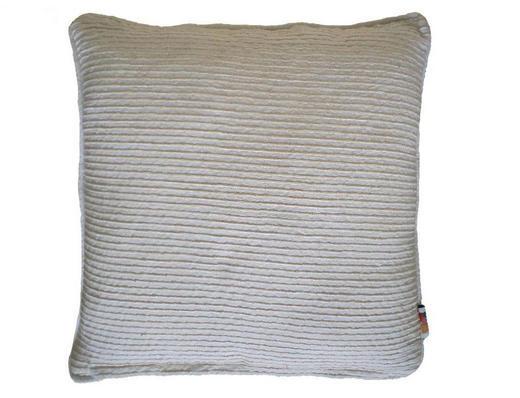 UKRASNI JASTUČIĆ - bež, Konvencionalno, tekstil (45/45cm)