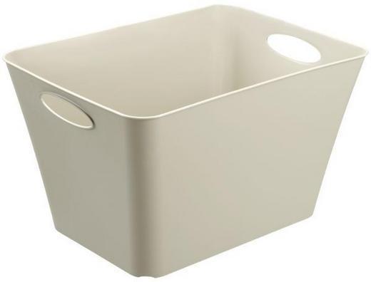 BOX Kunststoff Beige - Beige, Basics, Kunststoff (39/31/52cm)