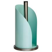 KÜCHENROLLENHALTER - Edelstahlfarben/Mintgrün, Basics, Metall (15,6/35,2cm) - Wesco
