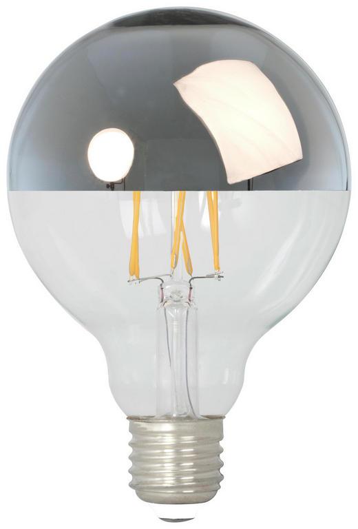 LED-LEUCHTMITTEL  11 W - Goldfarben, Basics, Glas (9,6/15/9,6cm)