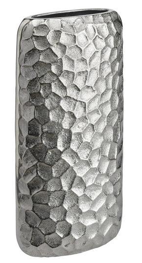 VAS - nickelfärgad, Design, metall (15,5/32/7cm) - Ambia Home
