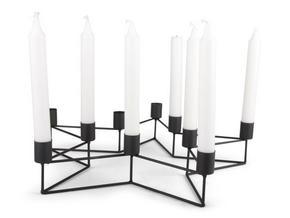 ADVENTSLJUSSTAKE - svart, Basics, metall (40/8,5/38,5cm)