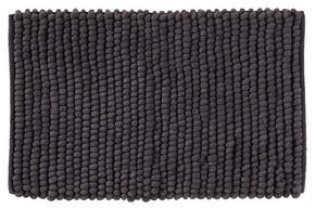 BADRUMSMATTA - antracit, Basics, textil/plast (50/80cm) - Esposa