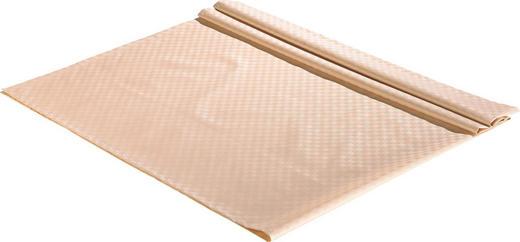 TISCHDECKE Textil Jacquard Naturfarben 135/220 cm - Naturfarben, Basics, Textil (135/220cm)