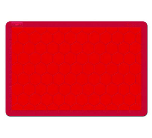 BACKMATTE - Rot, Basics, Kunststoff (40/60cm) - Kaiser