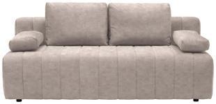 SCHLAFSOFA in Textil Naturfarben  - Schwarz/Naturfarben, MODERN, Kunststoff/Textil (198/87/92cm) - Xora