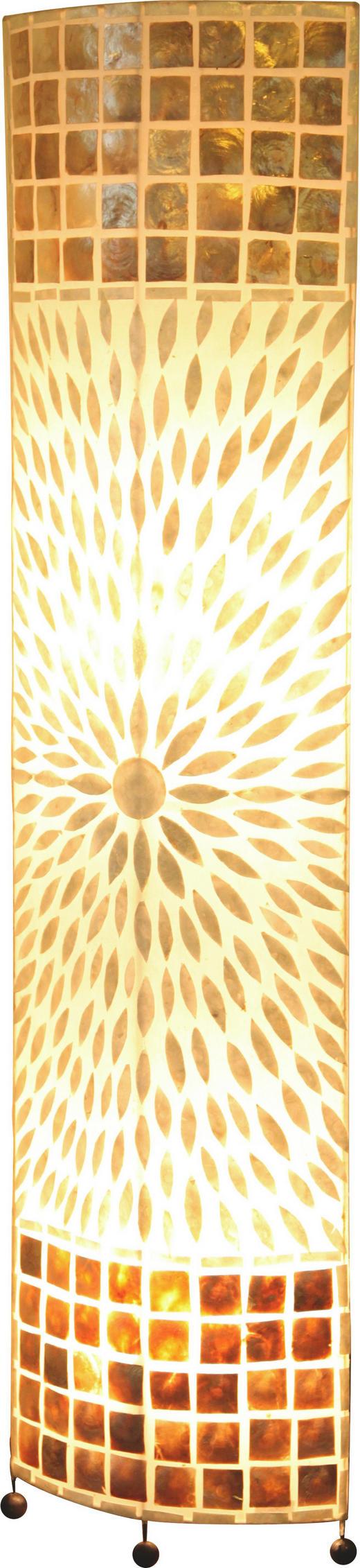 STEHLEUCHTE - LIFESTYLE, Textil/Weitere Naturmaterialien (36,5/17/149cm)