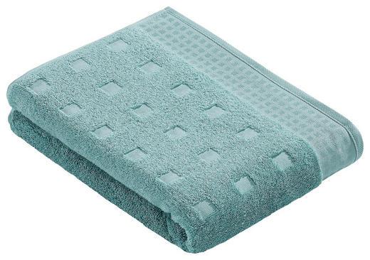 BADETUCH 100/150 cm - Mintgrün, Basics, Textil (100/150cm) - Vossen