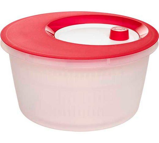 SALATSCHLEUDER - Rot/Weiß, Basics, Kunststoff (4l) - Emsa