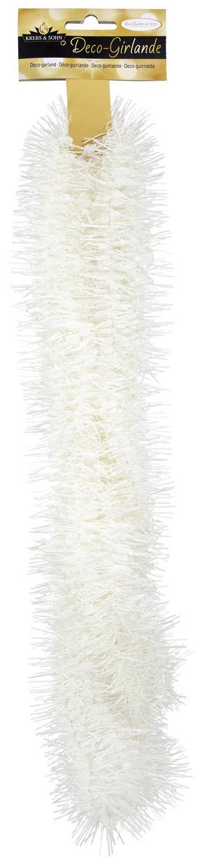GIRLANG - vit, Klassisk, plast (400cm)